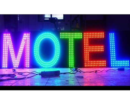 LED外漏发光字